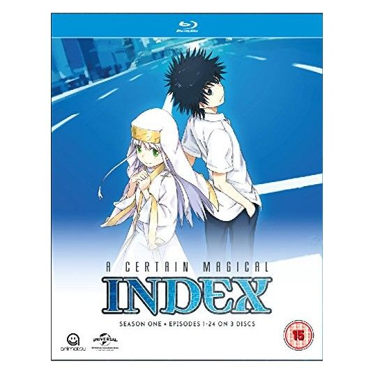 A Certain Magical Index Complete Season 1 Collection