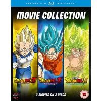 Dragon Ball Movie Trilogy (Battle Of Gods, Resurrection F , Broly)
