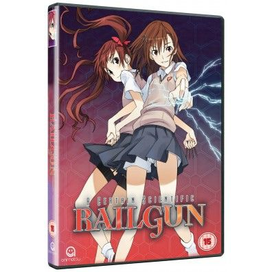 A Certain Scientific Railgun Complete Season 1 Collection