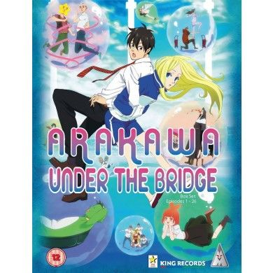 Arakawa Under The Bridge Series 1 & 2 collection