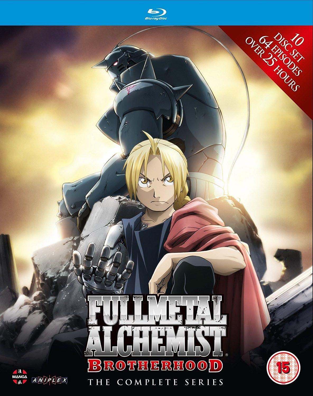 Fullmetal Alchemist Brotherhood - Complete Series (Blu-Ray ...